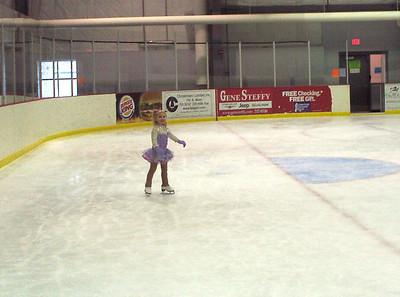 Rachel skating.