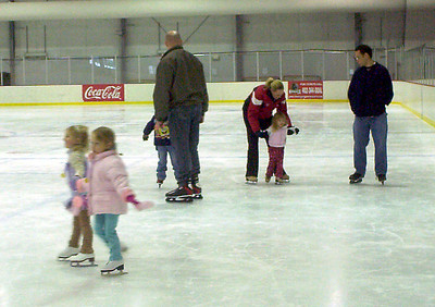 Maggie and Rachel skate hand-in-hand, while first-timers Nolan and Taylor get stronger and stronger on the ice.