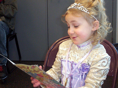 """Rachel got a real kick out of opening the cards -- she """"read"""" them all to us. Interestingly, most said, """"Dear Rachel, you are smart and beautiful and I really like you. Please come to my house and play with me tomorrow."""""""