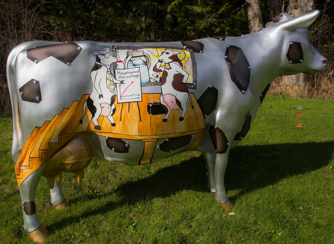 The Moochanical Moochine - Rachel's Art of Dairy competition cow