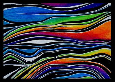 Waves   5x7