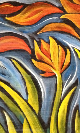Petals on the Wind I
