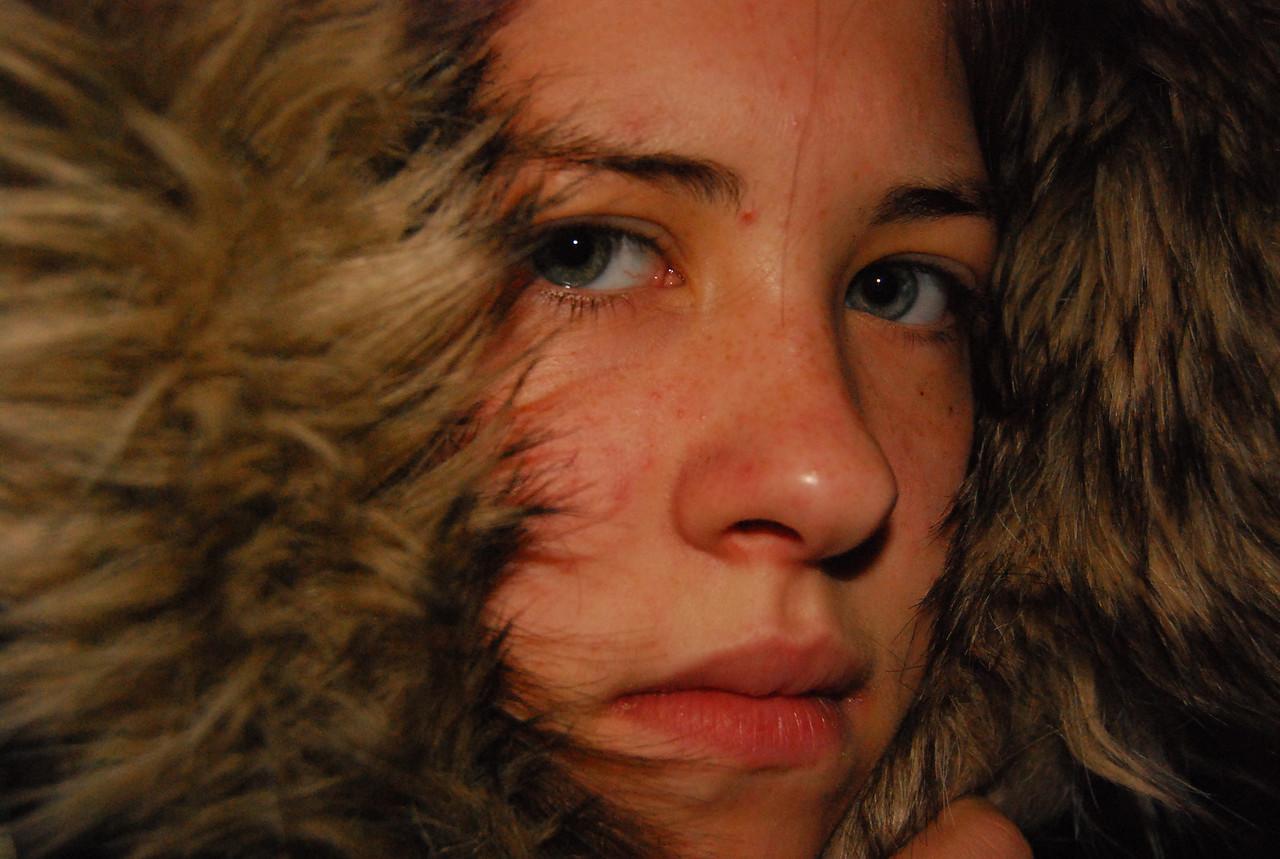 Rachel self portrait