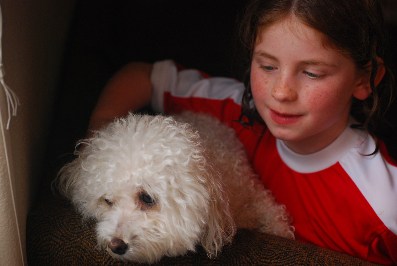 Maggie with Tippy