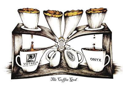 Pour-over Coffee: The Cofee God