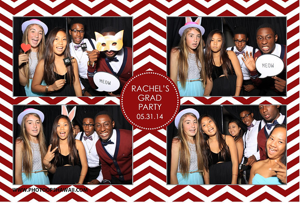 Rachel's Grad Party (Stand Up Photo Booth)