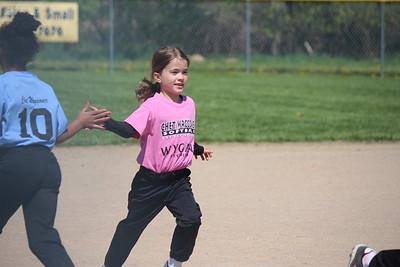 Rachel's softball 2015