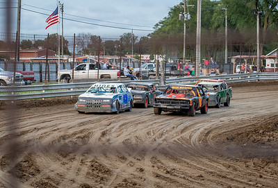 Rush County Fair Race (Hornets/Pure Stocks) 06.26.18