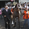 Palice Malice trained by Todd Pletcher wins the Belmont Stakes
