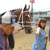 Barbara Banke leads Terra Promessa into the Winners Circle
