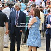 Trainer Steve Asmussen and Barbara Banke of Stonestreet Stables