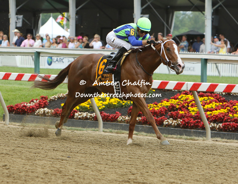 Shamans Ghost in the Pimlico Special Winners circle