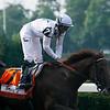 Drosselmeyer trained by Bill Mott wins the Belmont Stakes