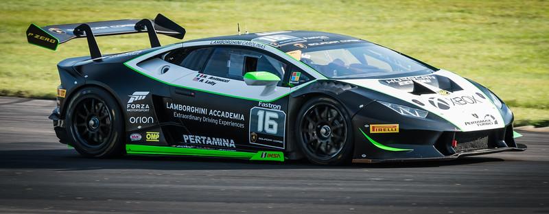 Lamborghini Super Trofeo race cars