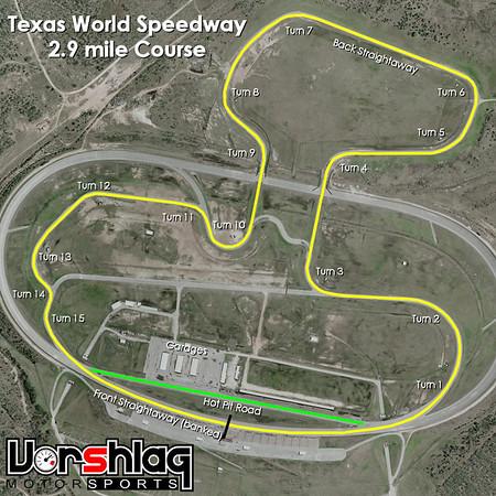 TWS 2.9 mi track map