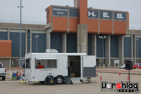 The Texas Region SCCA's new Solo timing trailer.