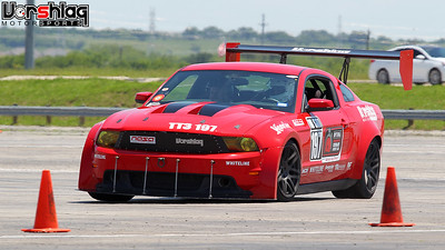 SCCA Autocross @ TMS Bus Lot, May 3, 2015