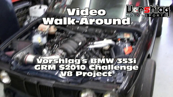 More details on the engine we used in our 1986 BMW E30. We built this car for $2010 to compete in a magazine challenge.