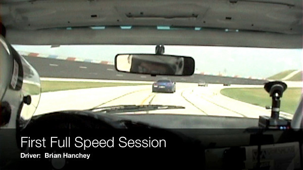 This is the video from the NASA TWS Event August 2009.  You'll notice when the car gets above 120mph in video starts to get garbled.  This is because there was a drivetrain vibration.  In the closing seconds you'll see the outcome of that vibration, the transmission fails at 155 mph on the front straight.