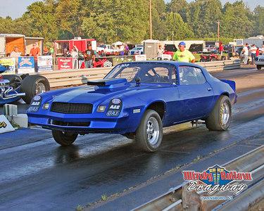 8x10 blue camaro