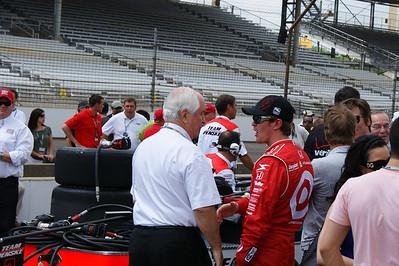 Penske and Dixon