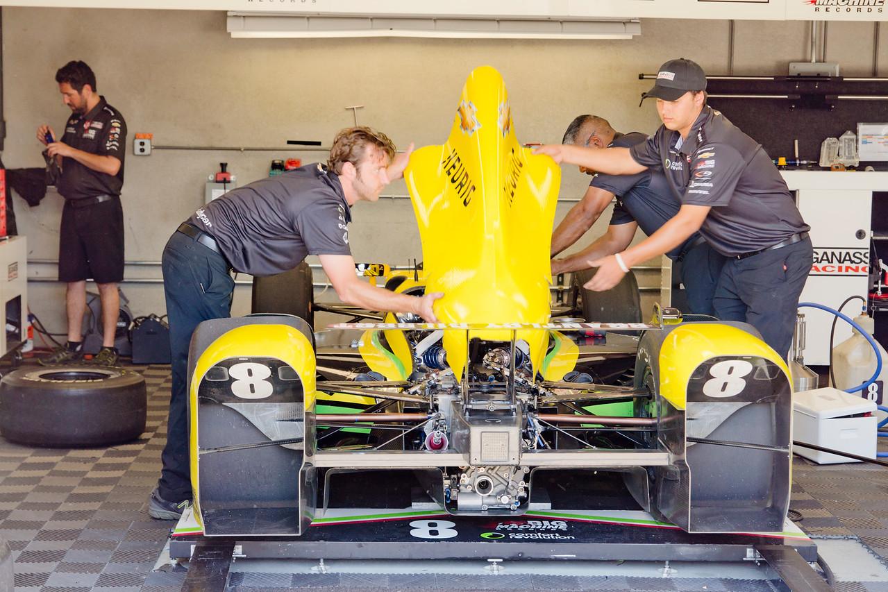 Marco Andretti Car