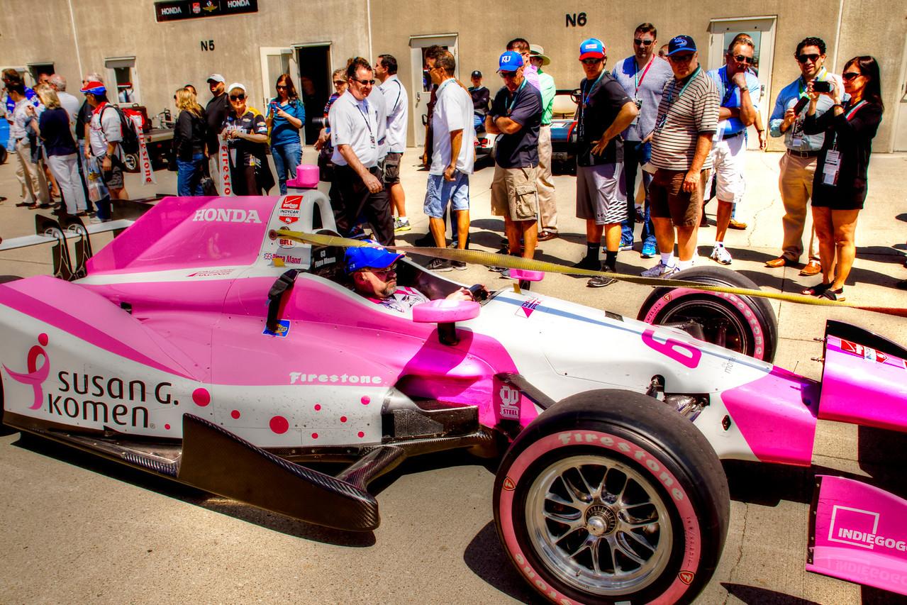 Pippa Mann Car