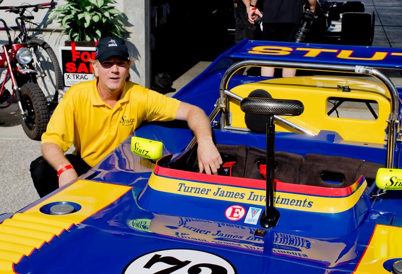 Kraig Johnson with Turner Woodard Car