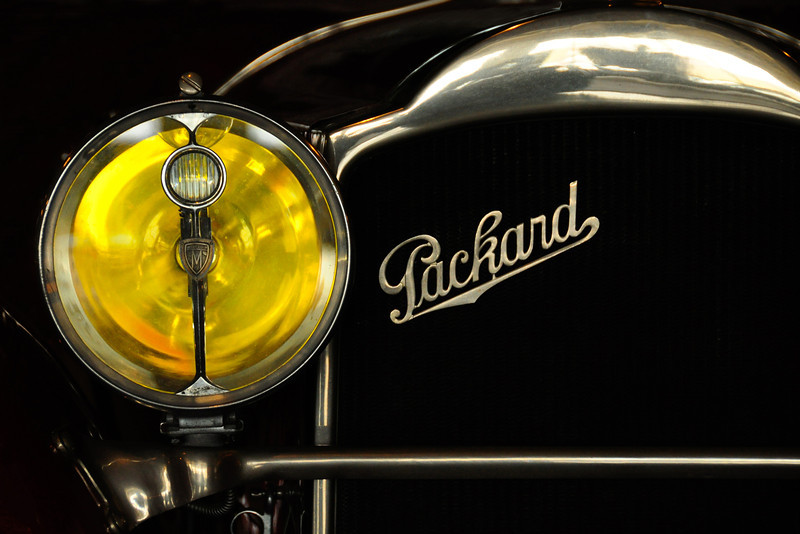 Packard with optional yellow headlighting.