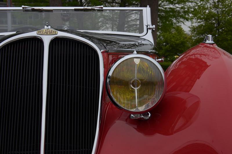 1936 Delahaye 125 Competition Figoni, 2013 Celebration of Autos, Indianapolis Motor Speedway