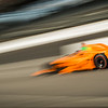 Fernando at speed, 101st running of Indy 500.