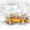 DHL - Hunter-Reay pitstop - where race is won . . . or lost.