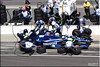 Pit-stop,  Josef Newgarden, 100th running Indianapolis 500 2016