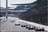 100th running, Indianapolis 500, main straight