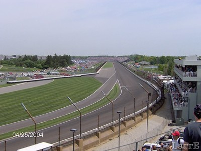 Indy turn 2..pit exit....back stretch