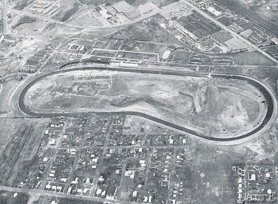"""Trenton Speedway was a racing facility located near Trenton, New Jersey at the New Jersey State Fairgrounds.The first race at the Fairgrounds was held on September 24, 1900, but there was no further racing there until 1907. Regular racing began in 1912 and continued until 1941. A new 1 mile dirt oval was opened in 1946. In 1957 the track was paved. It operated in that configuration until 1968 when the track was expanded to 1.5 miles and a """"kidney bean"""" shape with a 20° right-hand dogleg on the back stretch and a wider turn 3 & 4 complex than turns 1 & 2. The track closed in 1980 and the Fairgrounds itself closed 3 years later.  Trenton was a long-time stop for the AAA and USAC Championship Car series. Its first recognized Champ Car race was held in 1949 on the dirt mile. The series didn't return until 1957 when the track was paved, but when it did, at least one Champ Car race was held every year until 1979. The final Champ Car races held in 1979 at the track were sanctioned by CART. During his career A. J. Foyt won twelve Indy Car races at Trenton Speedway. — at Trenton N.J."""