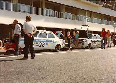 Hanson & Woodman cars Paul Ricard