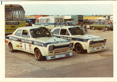 Both Broadspeed cars win there respective 1300 and 2000 class at either Silversone or Thruxton in 1973