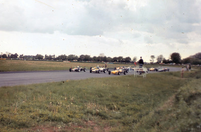 Andy's front row start at Castle Combe 1968/9?