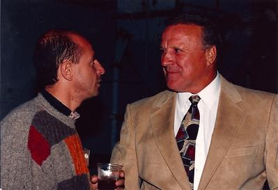 Roberto Moreno & AJ Foyt