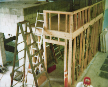 Dyno console room gets framed