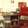 Located at Unit L7 Oregon Court in Torrance I worked for Larry Slutter this was my first work station when I started in May 1980 with Cosworth in 1980, here I was in cramped quarters assembling a DFX ready for dyno testing.