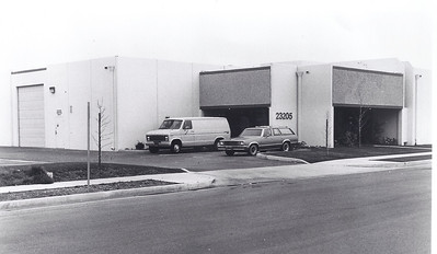 In 1981 we moved to a new larger facility that had just been built on Early Avenue in Torrance. Total space was 7500sq.ft. but we split it to use 3500 and rented surplus for a few years until we needed it.