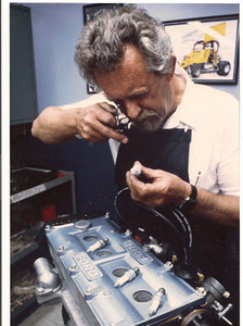 Paul Dubois came on board to look after the Midget engine customers.