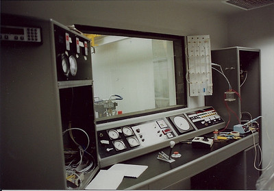 The control room is slowly being completed with all instrumentation and controls
