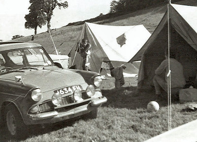 Camping with the lads down in Cornwall