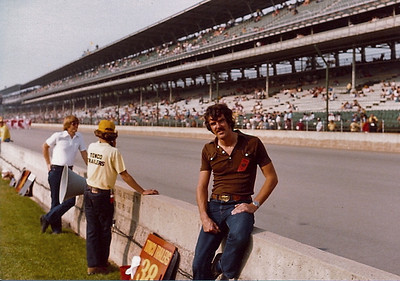 My first visit to Indy in 1981 mainly as a spectator.  I was to visit every year thro 1996 working for Cosworth