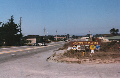 On arriving in the USA in 1978 Marina in California was the home of the Shadow Team
