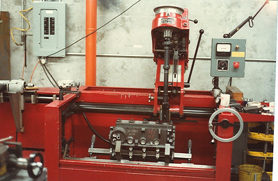 The Sunnen CK10 was used to hone cylinder blocks in house
