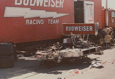 Always the ones to beat were the Budweiser team of Carl Hass and Paul Newman